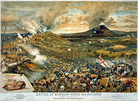 Battle of Missionary Ridge - Lithograph by McCormick Harvesting