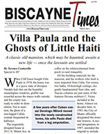 Biscayne Times (April 2008) Villa Paula Miami