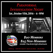 Gold Coast Railroad Museum Paranormal Investigation Night with PRISM