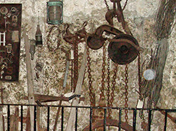 Coral Castle PRISM 4-27-2015 Tool Room Orb