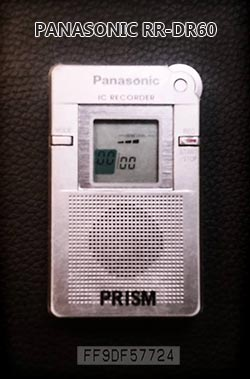 Panasonic RR-DR60 IC Recorder